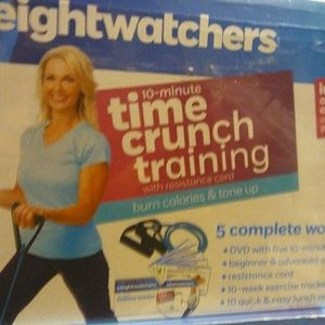 Other - Weight Watchers 10 minute time crunch training